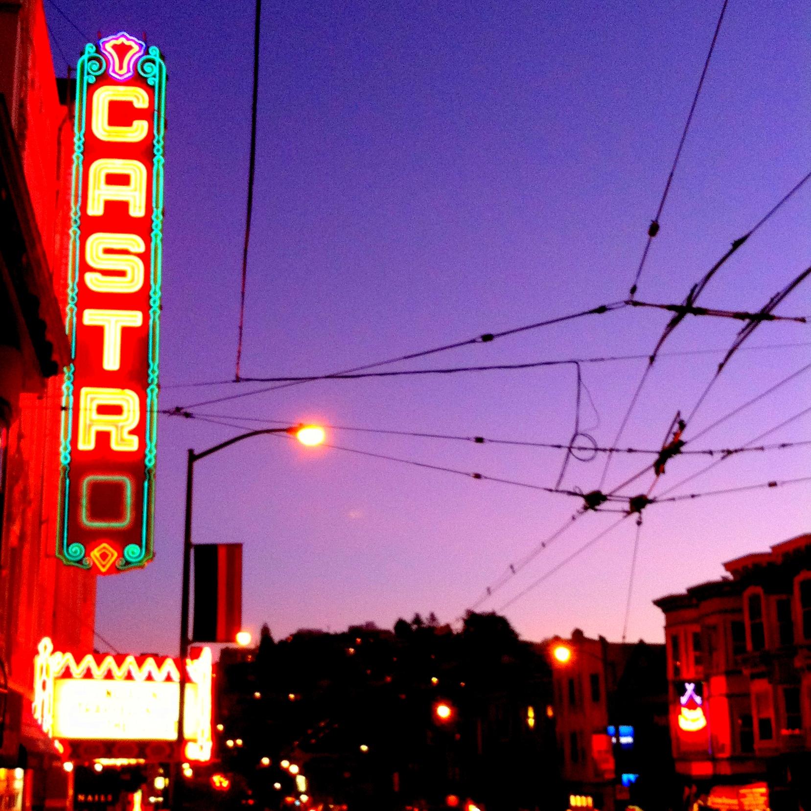 The Castro Theatre.