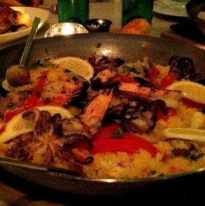 Paella, Florida Cookery.