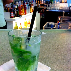 Mojito at the airport.