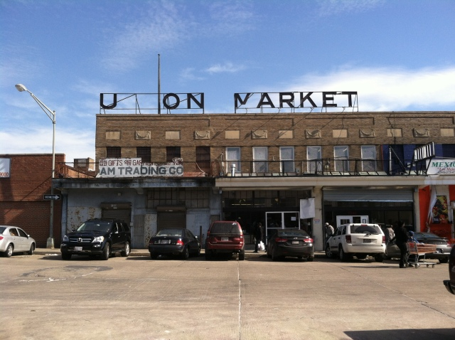The Old Union Market.