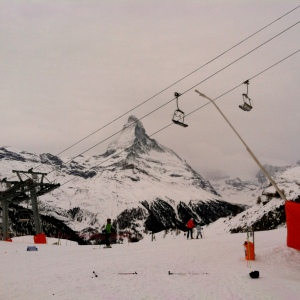 The Matterhorn from Sunnegga.