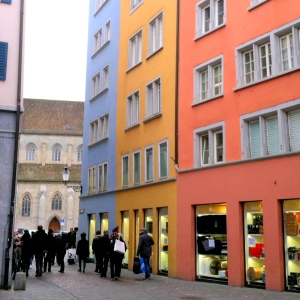 Zurich, Switzerland -- more colorful than you think.