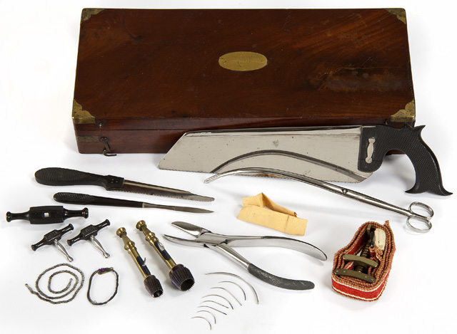 Civil War-era surgical implements (Minnesota Historical Society/Flickr).