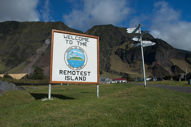 Tristan da Cunha - The Remotest Island. Brian Gratwicke/Flickr.