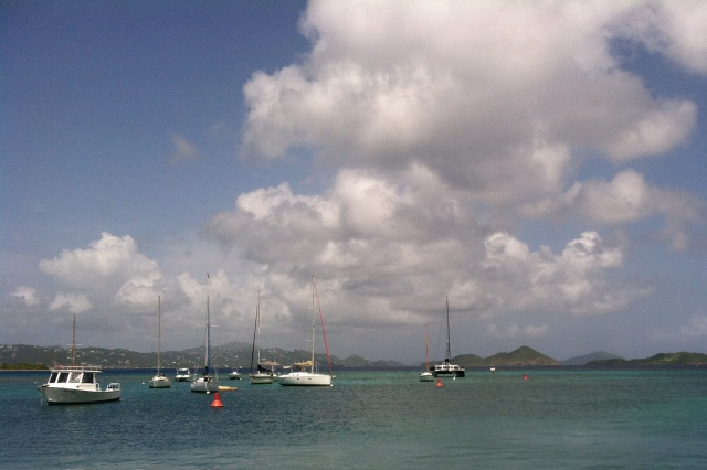 View of St. Thomas from St. John.