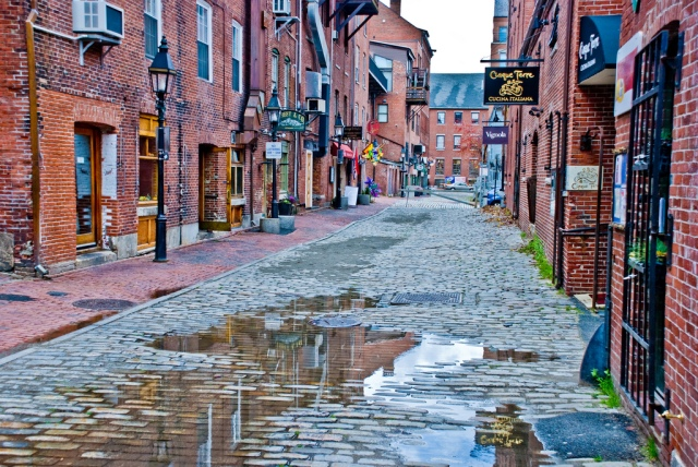 Old Port, Portland, Maine (Phillip Capper/Flickr)