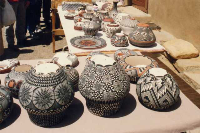 Pottery, Acoma Pueblo (Photo: A.S.Graboyes)