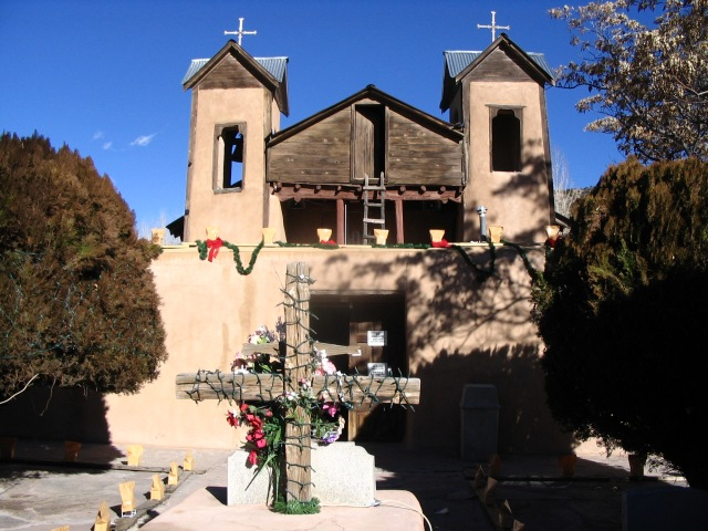 Chimayó during Christmas season