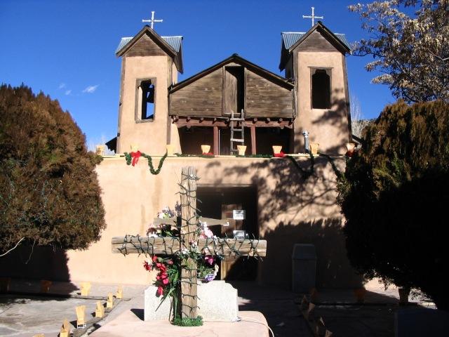Chimayó during Christmas season