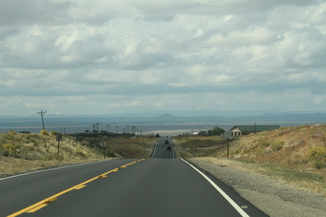 Endless highway near Taos