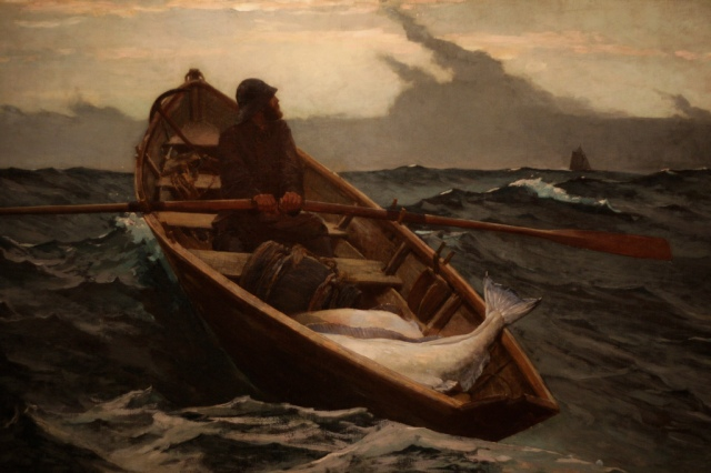 The Fog Warning, Winslow Homer (Nathanael Hevelone/Flickr)