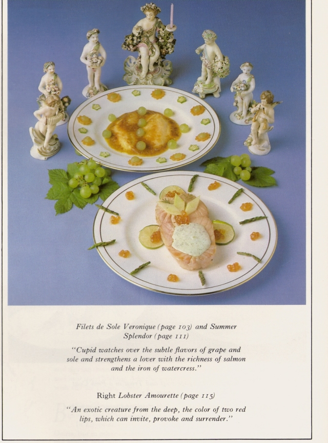 1980s: Filet de sole Veronique and Summer Splendor. Souce: Greg.H/Flickr.