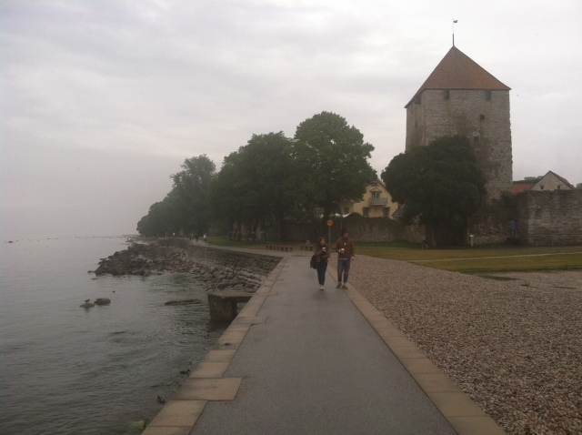 Visby by the Baltic Sea.