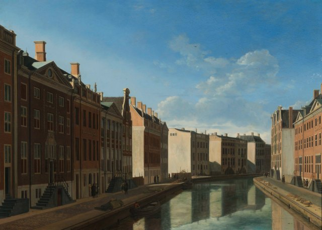 Gerrit Adriaensz. Berckheyde, The Bend in the Herengracht, 1671-1672